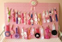 Abby: Hair Organizers Hangers Holders Boards / by Kenny Burns
