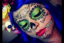 Makeup--Day of the Dead / by Nichole Leavy