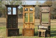 Doors Salvaged Repurposed Handmade