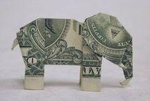 Crafts: Dollar Bill Origami / by Kenny Burns