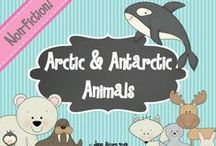 Speech Therapy: January / Winter, Snow, Arctic and Antarctic Animals, Martin Luther King, Jr speech therapy