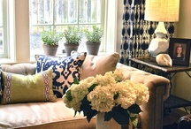 living | gathering rooms / by beth dontje
