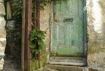 Doors and Gateways and Shutters / by Pamela Eagleson