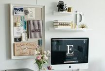 Home Lovelies // Work Station / by Meg Sexton Photography