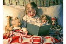 Favorite Art and Pictures /  Childrens art, people art, pictures that caught my eye. / by Teresa Lewis