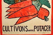 Au Potager Cuisine / In the kitchen garden. #growyourown