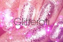 Glitterati / Nothing more girly than glitter nails! / by Bellacures