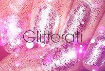 Glitterati / Nothing more girly than glitter nails!