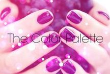 The Color Palette / Nail lacquers and other colorful things.