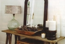 mantle | entryway decor / by beth dontje