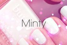 Minty / Nails, #nailart and other pretty things in shades of mint.