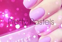 Pretty Pastels / #nails and other pretty things in pastel hues / by Bellacures