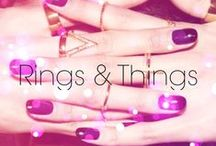 Rings and Things / Two of our favorite things: #nails and accessories.