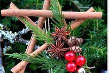Home Grown Christmas / Christmas greenery, Christmas crafts, Christmas repurposed, Christmas porches, mantles & tabletops ~ Decorating the Natural Way.