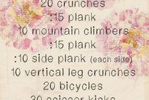 Workouts / by Katie DeBari