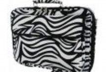 Crazy about Zebra! / Zebra print totes, lunch totes, make-up bags & much more!