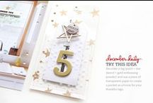 AE | December Daily® / Document your holiday season with a December Daily® album. More details here: http://aliedwards.com/december-daily