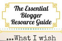 Blogging: Growing Your Blog / My blog story and created resources, as well as resources and articles that have helped my growth.