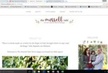 The Morrell Tale: On the Blog / Lifestyle blog about motherhood, marriage, religion, books, recipes, healthy lifestyle, domisticity, fashion, teaching, Disney lessons, blogging tips, and much more!