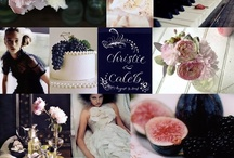 Wedding Colors: Navy and Berry / by Sara