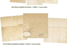 12x12 Memorabilia Pockets / by Simple Stories