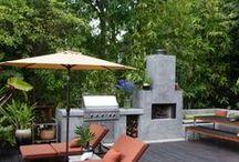 Outdoor kitchen / outdoor kitchen