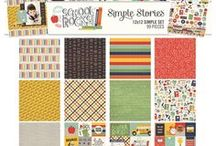 Simple Sets / Simple Sets are mini, themed collections consisting of 6 12x12 double sided patterned papers, two 6x12 sticker sheets and a Collection Pack; they're a pint sized package of Simple Stories goodness :)   They're just perfect for your themed layouts, Life Documented/Pocket Page scrapbooking spreads and paper crafting projects!