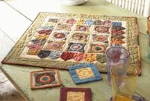 Quilty Pleasures - Table Toppers/Runners & Kitchen Gear