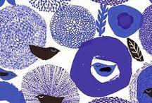 Pattern | Marimekko / Pattern design ideas and inspiration. Gourgeous, bold patterns by designer Marimekko.