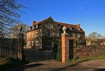English home&garden.  Blandford St Mary. / Manor House, Lower Blandford St Mary.