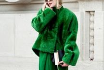 Green / Fashion, style, art, design, and photography with the color green.