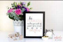 Abide in Me Designs / Beautiful digital prints for your office or home! Custom orders available! abideinmedesigns.etsy.com