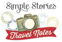 Travel Notes /  To travel is to discover and Travel Notes is the perfect collection to document your discovery.  Whether you're traveling via plane, train or automobile, pack your bags, see the world & take Travel Notes with you to document your journey along the way.