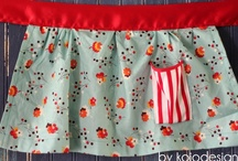 Crafts - Sewing - APRONS / I do love a cute apron. Inspiration, tutorials, and all of the above.