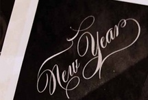 New Year / I adore the New Year.  The idea of starting fresh...is so refreshing!   It's a celebration of hope, imperfection and renewal.