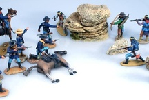 The Apache Wars by Morgan Miniatures / Morgan Miniatures are unique 60mm scale, matt painted, white metal figures from the U.K. No more than 400 painted figures will be available annually. Each figure is individually hand-painted in the connoisseur style and usually no two figures will be painted exactly the same. Currently there are four series. The Conquest of Mexico with Aztecs and Conquistadors, The Mexican Adventure 1861-67, Pirates and the Old West and Ancient Egypt.
