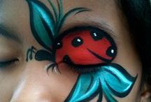 Face painting :) / by Debbie Labucay