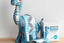 Crafty Dino / Ideas for a future store!
