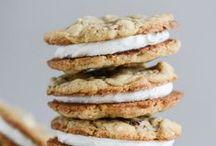 Sandwich Cookies / Cookies. With good stuff between!