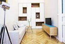 Interiér / Tipy pro vaše koupelny, kuchyně, obývací pokoje, ložnice, dětské pokoje, domácí fitness, pracovny a šatny a prádelny.