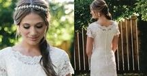 Modest Bridal at The Hitching Post
