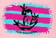 Arts-Rainettes / J'ai crée une petite boutique perso du nom de Arts-Rainettes,pour laisser libre court à ma création sur tee-shirt