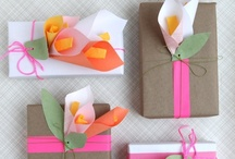 Gifts, Wrapping and Invites / by Stephanie Vale (Prior)