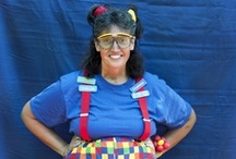 Clowns & Kids Activities / Clueless the Balloon Twister and some fun activities for your kids. Contact me for pricing for Clueless or her friends for your next event...birthdays, daycares, company picnics, family reunions, grand openings, city celebrations, and more!  Check out my Balloon Twisting board too!