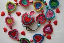 hearts (crochet)