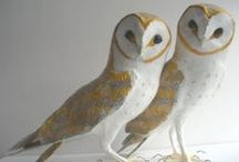 paper mache / from such simple materials comes lovely sculture