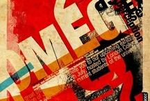 typographic poster / by SmallBlackRoom