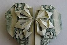Money Origami / by Janet Fossen / Get Healthier With Me