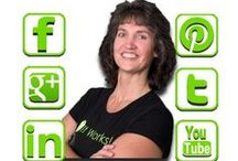 Connect with Me & Contact Me / Follow Janet Fossen & Get Healthier With Me on your favorite Social Media site and at www.GetHealthierWithMe.com / by Janet Fossen / Get Healthier With Me