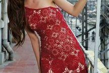 dresses, skirts (crochet)